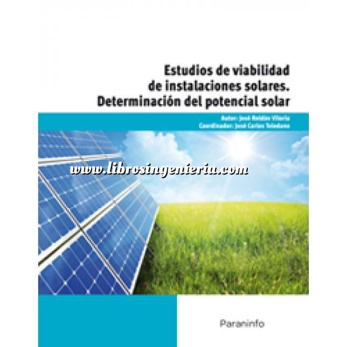 Imagen Solar fotovoltaica Determinación del potencial solar