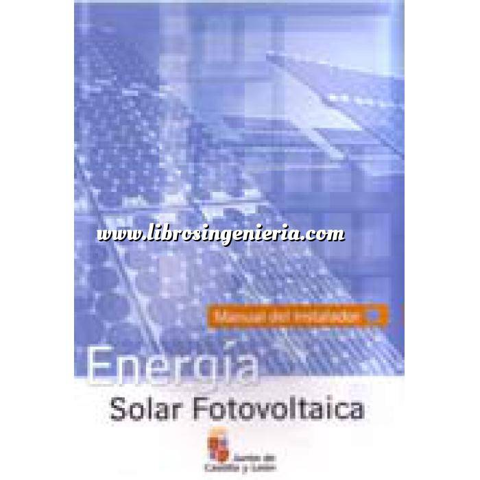 Imagen Solar fotovoltaica Energía Solar Fotovoltaica. Manual De Instalador