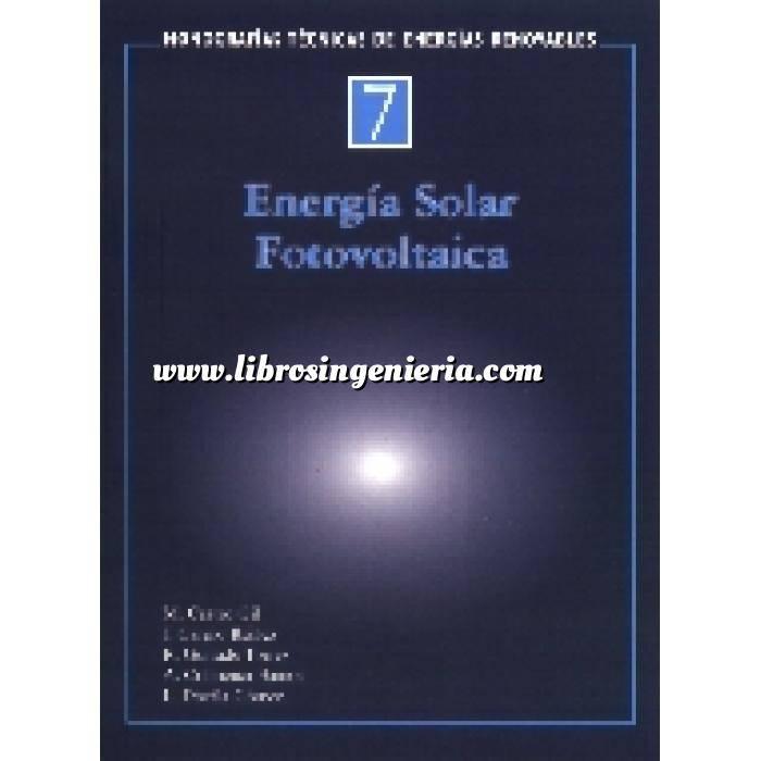 Imagen Solar fotovoltaica Monografías técnicas de energías renovables. Energía solar fotovoltaica
