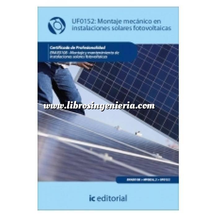 Imagen Solar fotovoltaica Montaje mecánico de instalaciones solares fotovoltáicas