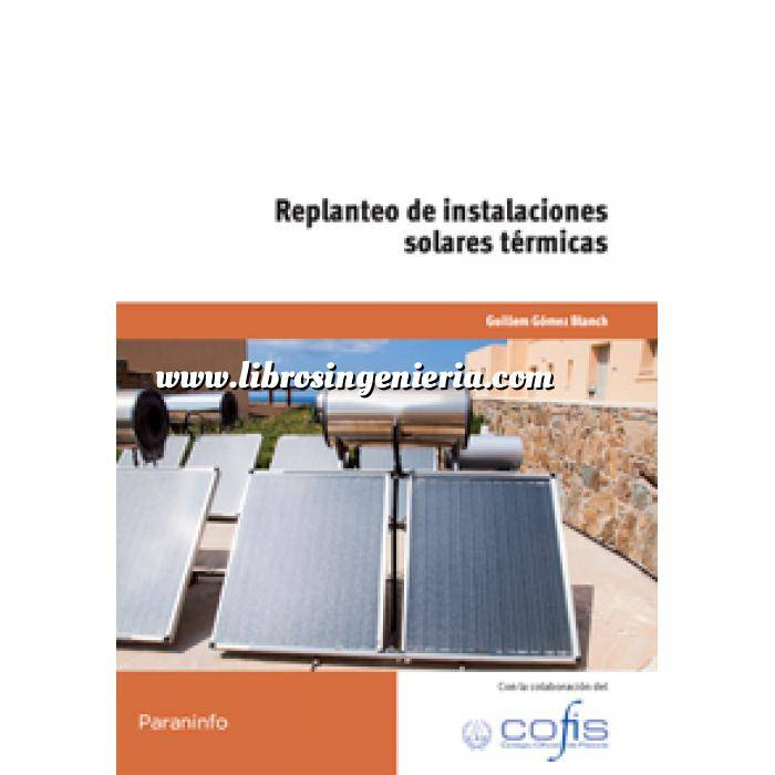 Imagen Solar fotovoltaica Replanteo de instalaciones solares térmicas