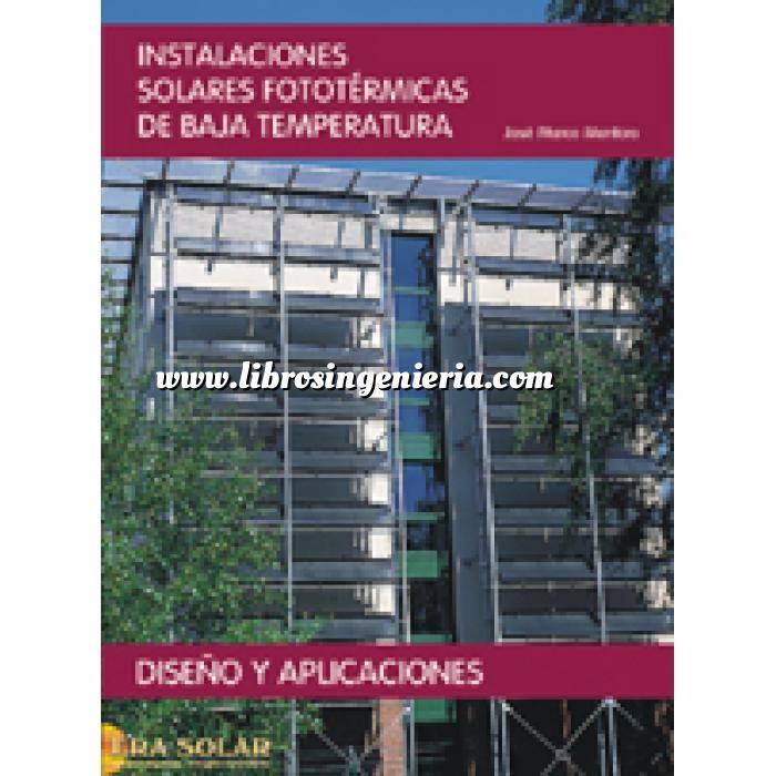 Imagen Solar térmica Instalaciones solares fototermicas de baja temperatura. diseño y aplicaciones