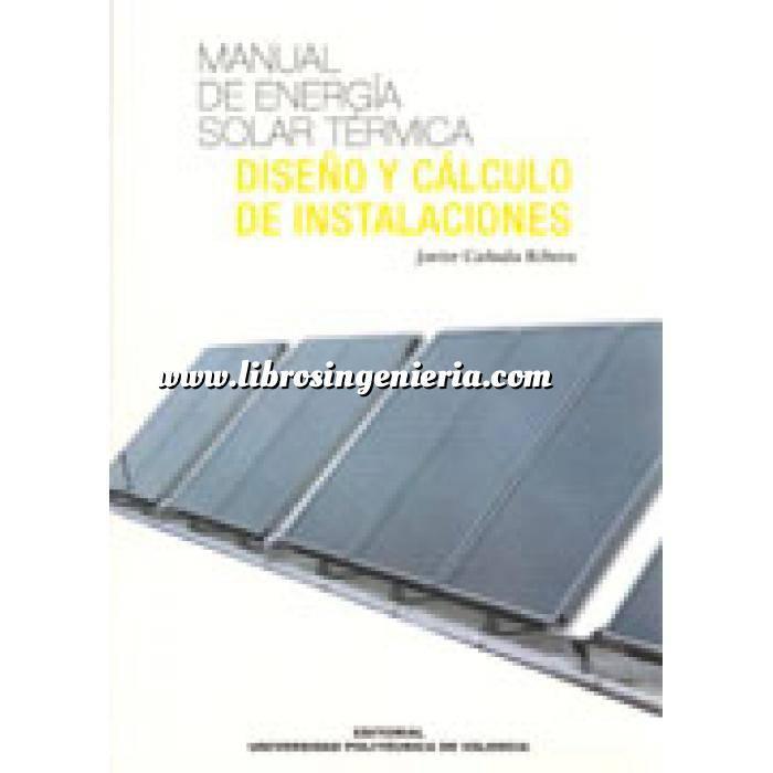 Imagen Solar térmica Manual de energía solar térmica : diseño y cálculo de instalaciones
