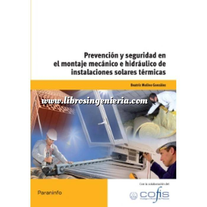 Imagen Solar térmica Prevención y seguridad en el montaje mecánico e hidráulico de instalaciones solares térmicas