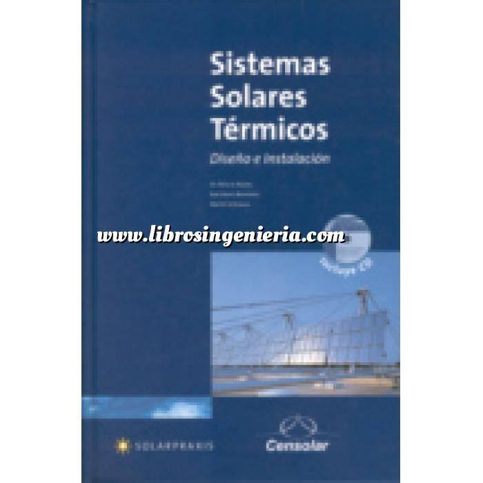 Imagen Solar térmica Sistemas solares térmicos. Diseño e instalación. Libro + Cd curso para instaladores