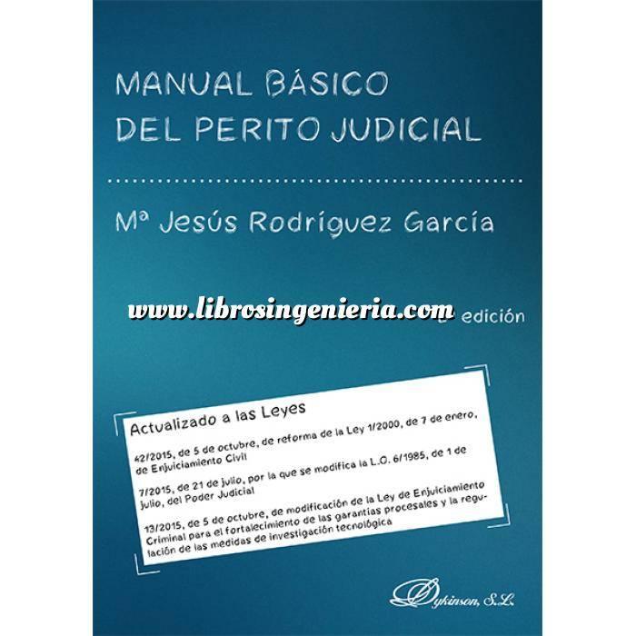 Imagen Tasaciones  Manual basico del perito judicial