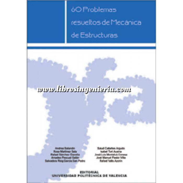 Imagen Teoría de estructuras 60 problemas resueltos de mecánica de estructuras
