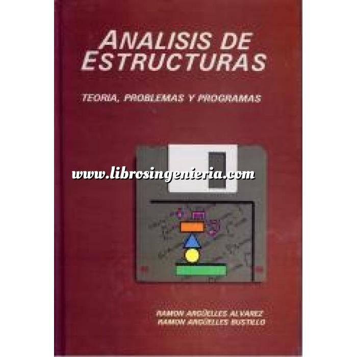 Imagen Teoría de estructuras Análisis de estructuras,teoria  problemas y programas incluye diskette