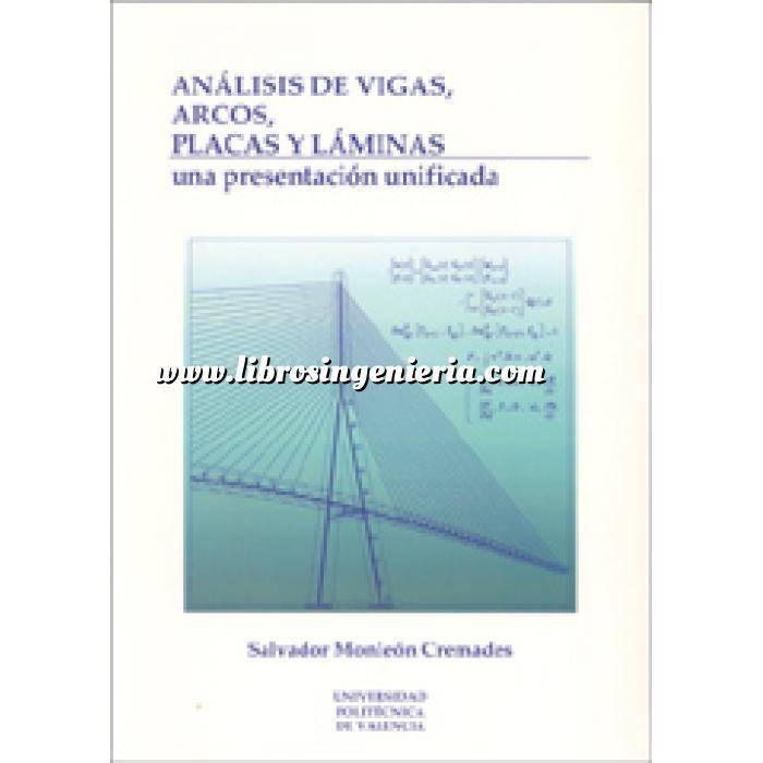 Imagen Teoría de estructuras Analisis de vigas.arcos.placas y laminas:una presentacion unificada