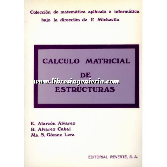 Imagen Teoría de estructuras Cálculo matricial de estructuras