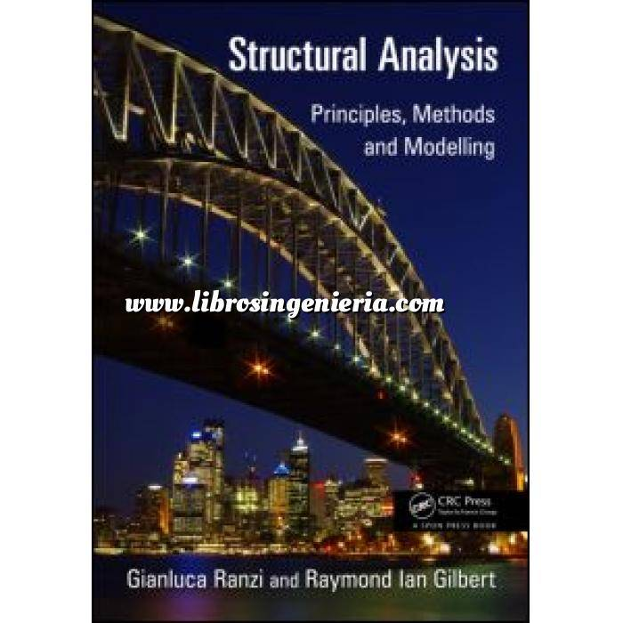 Imagen Teoría de estructuras Structural Analysis.Principles, Methods and Modelling