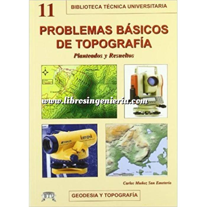 Imagen Topografía Problemas básicos de topografía : Planteados y resueltos