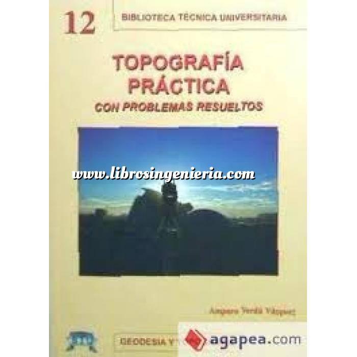 Imagen Topografía Topografía práctica con problemas resueltos