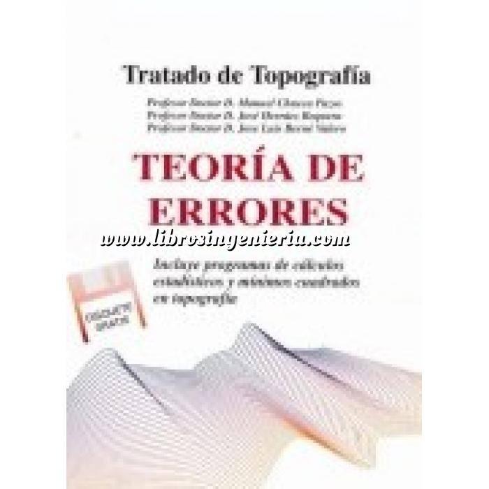 Imagen Topografía Tratado de topografía Tomo 1. Teoría de errores e instrumentación