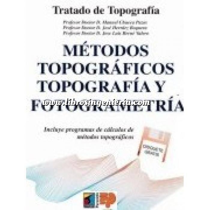 Imagen Topografía Tratado de topografía. Tomo II. Métodos topográficos