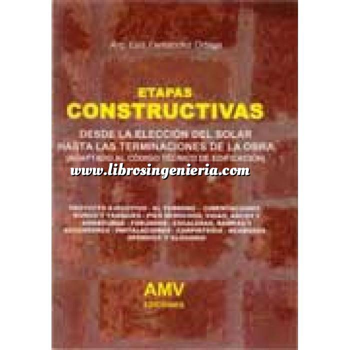 Imagen Tratados Etapas constructivas,desde la elección del solar hasta las terminaciones de la obra.