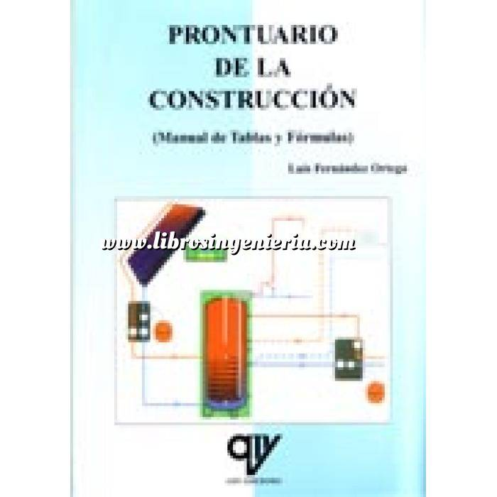 Imagen Tratados Prontuario de la construcción .Manual de tablas y fórmulas
