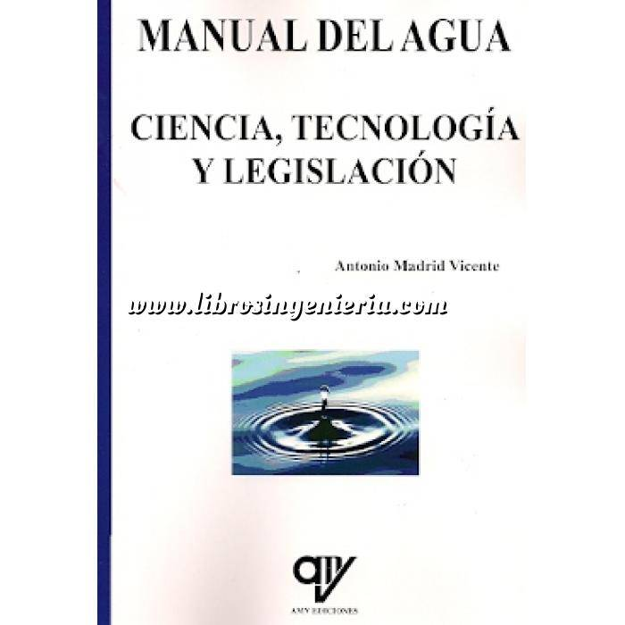 Imagen Tratamiento y depuración de aguas Manual del agua.ciencia,tecnología y legislación