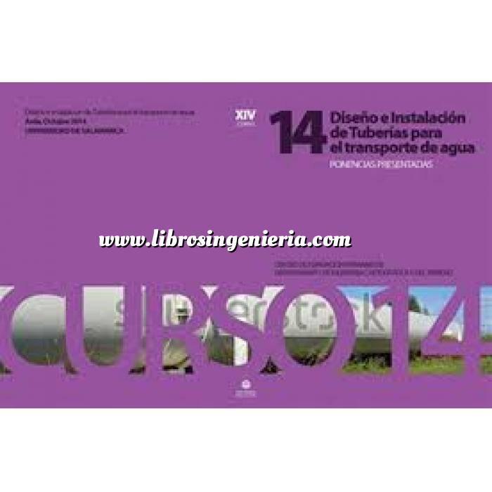 Imagen Tuberías XIV Curso sobre diseño e instalación de tuberías para transporte de agua