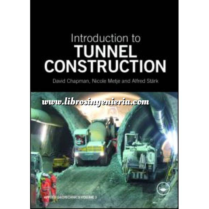 Imagen Túneles y obras subterráneas Introduction to tunnel construction