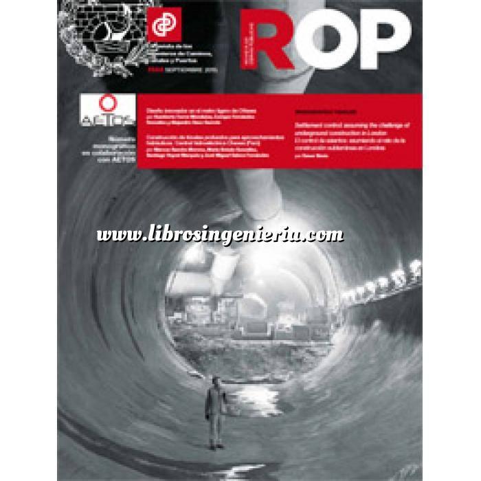 Imagen Túneles y obras subterráneas Revista Revista Obras Publicas ROP nº 3568 Monografia de túneles