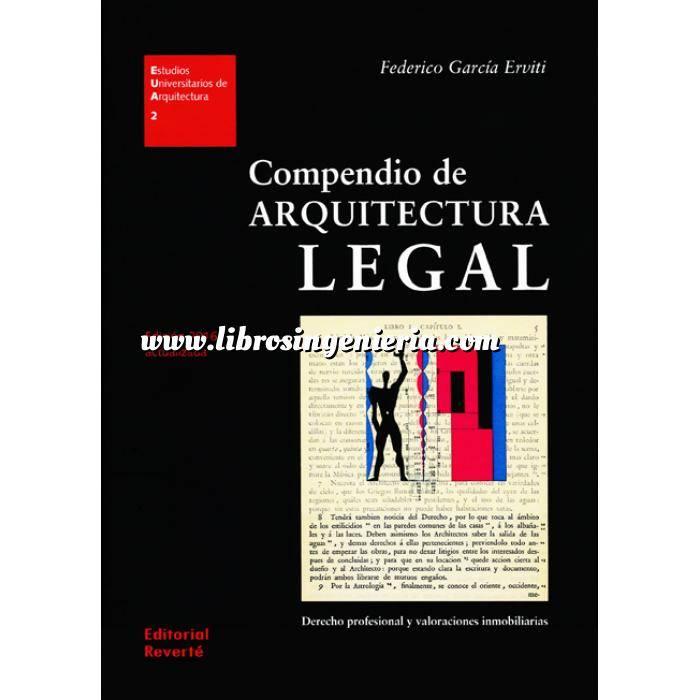 Imagen Valoraciones inmobiliarias Compendio de arquitectura legal