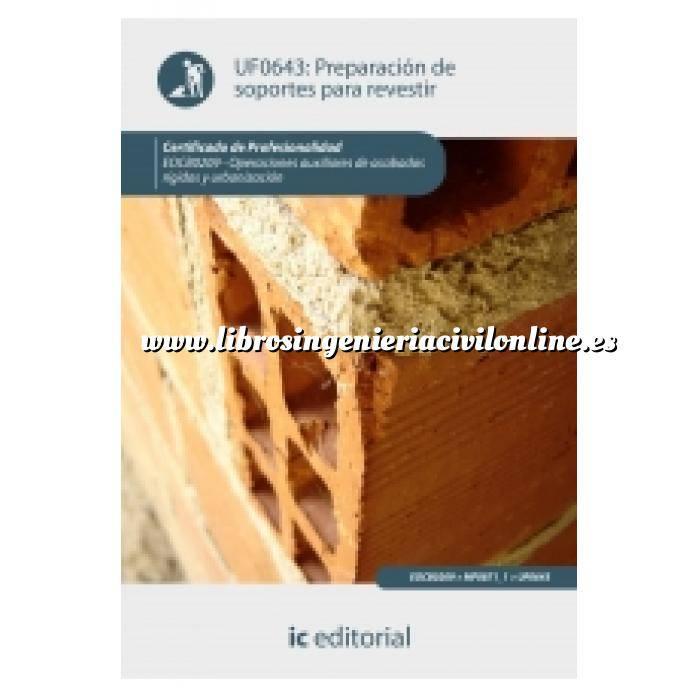 Imagen Albañilería  Preparación de soportes para revestir
