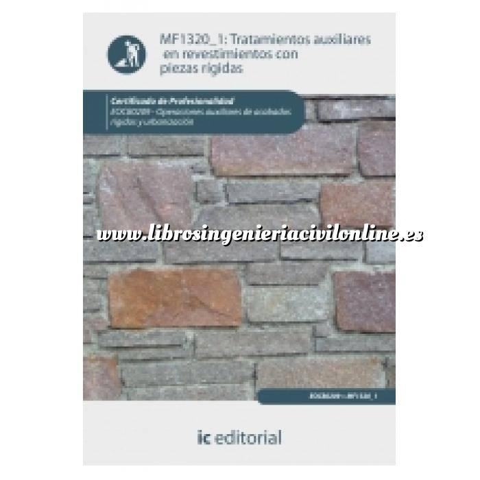 Imagen Albañilería  Tratamientos auxiliares en revestimientos con piezas rígidas