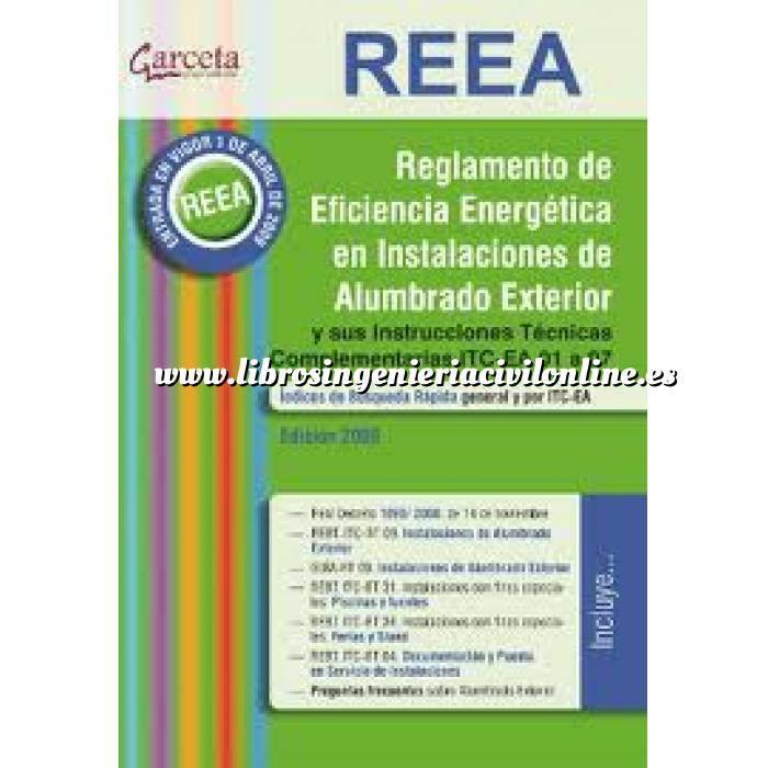 Imagen Alumbrado de exterior REEA  Reglamento de Eficiencia Energética en Instalaciones de Alumbrado Exterior.
