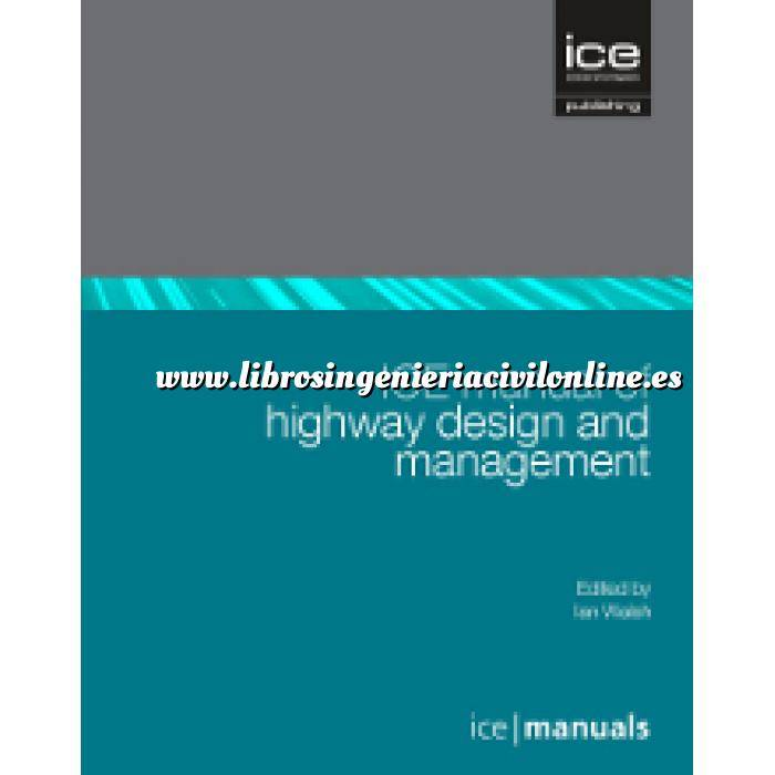 Imagen Carreteras ICE Manual of Highway Design and Management