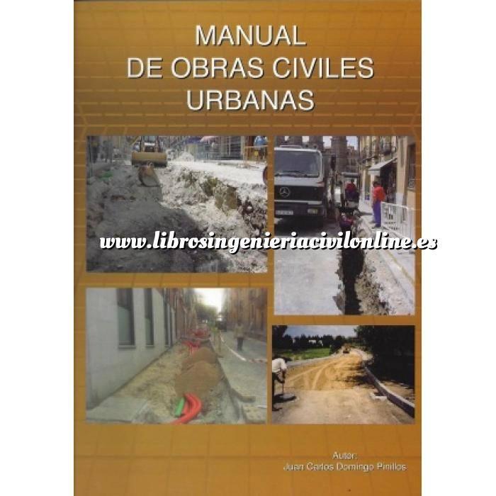Imagen Carreteras Manual de obras civiles urbanas