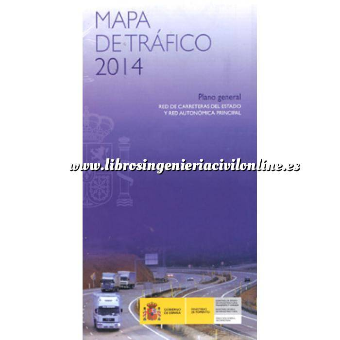 Imagen Carreteras Mapa de Tráfico 2014.