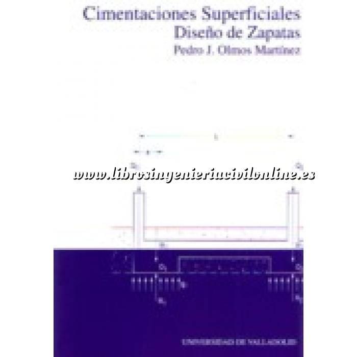 Imagen Cimentaciones Cimentaciones superficiales.diseño de zapatas.adaptado al codigo tecnico de la edificacion