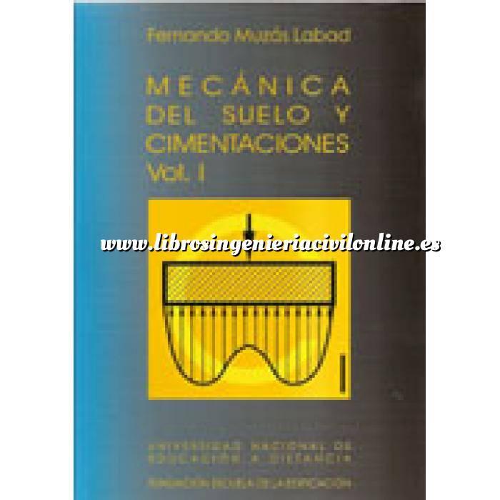 Imagen Cimentaciones Mecánica del suelo y cimentaciones. 2 vol.