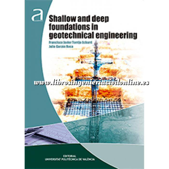 Imagen Cimentaciones Shallow and deep foundations in geotechnical engineering