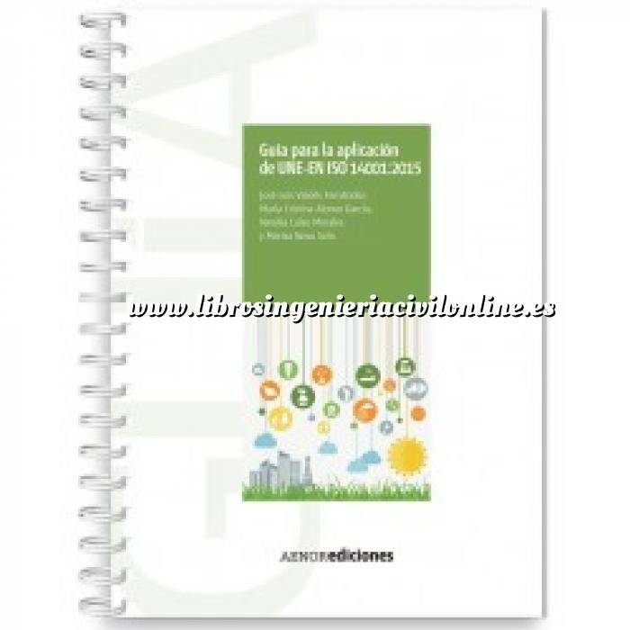 Imagen Control de calidad Guía para la aplicación de UNE-EN ISO 14001:2015