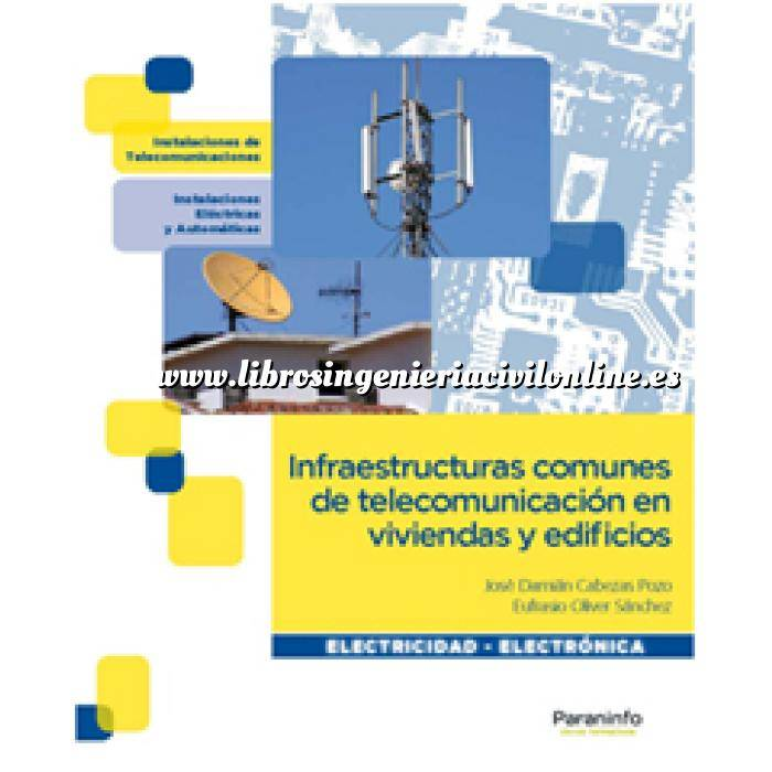 Imagen Domótica Infraestructuras comunes de telecomunicación en viviendas y edificios