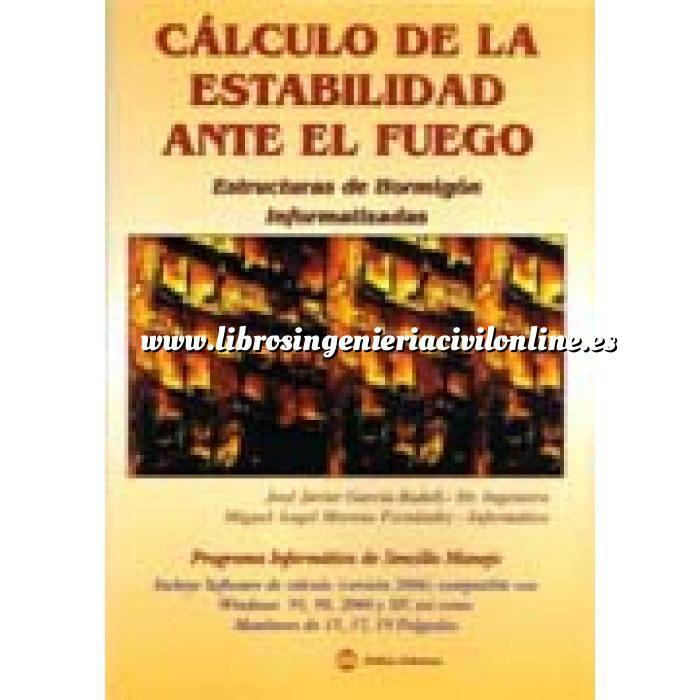 Imagen Estructuras de hormigón Cálculo de la estabilidad ante el fuego. estructuras de hormigón informatizadas.