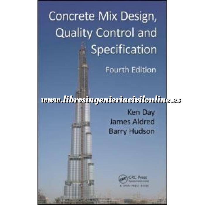 Imagen Estructuras de hormigón Concrete Mix Design, Quality Control and Specification