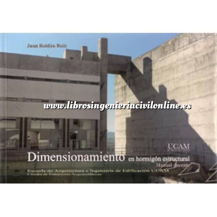 Imagen Estructuras de hormigón Dimensionamiento en hormigón estructural