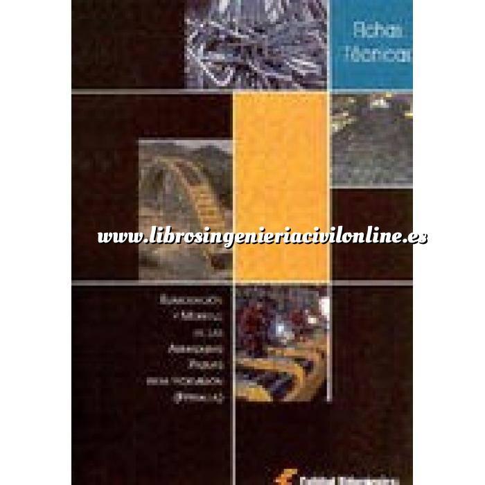 Imagen Estructuras de hormigón Fichas tecnicas. elaboración y montaje de las armaduras pasivas para hormigón ( ferralla)