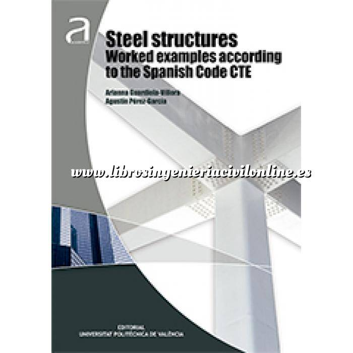 Imagen Estructuras metálicas Steel structures worked examples according to the Spanish code CTE