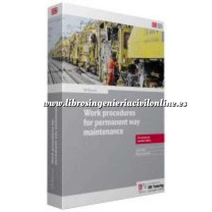 Imagen Ferrocarriles DB Manual work procedures for permament way  maintenance