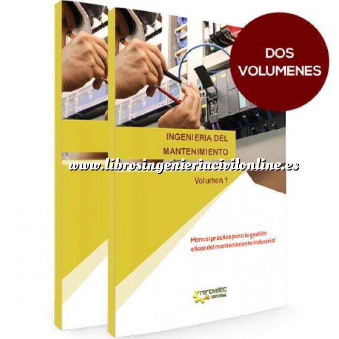 Imagen Fontanería y saneamiento Ingenieria del mantenimiento.Manual práctico para la gestión eficaz del mantenimiento industrial