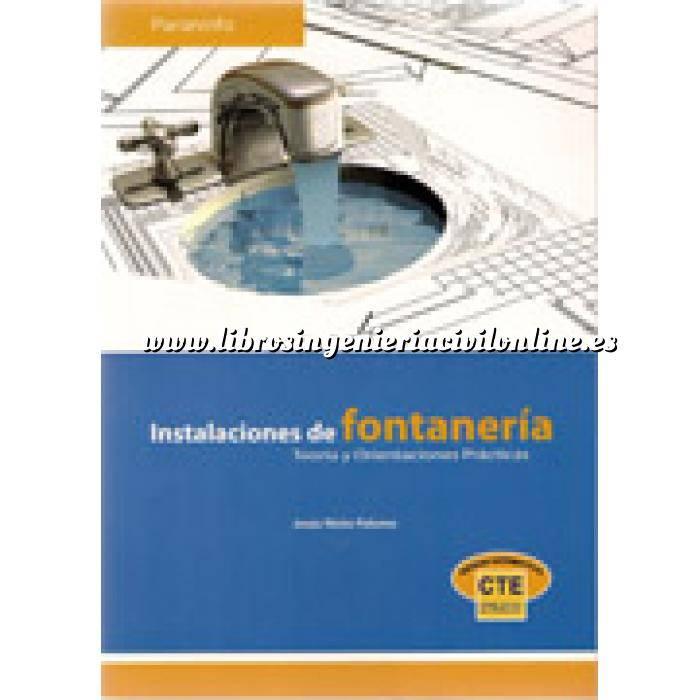 Imagen Fontanería y saneamiento Instalaciones de fontanería. Teoría y orientaciones prácticas