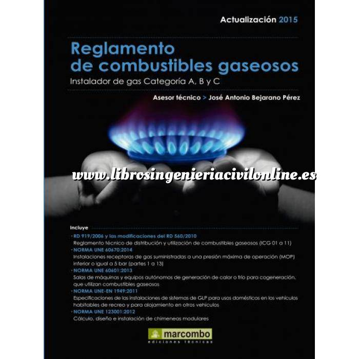 Imagen Gas Reglamento de combustibles gaseosos. Instalador de gas categoría a,b y c