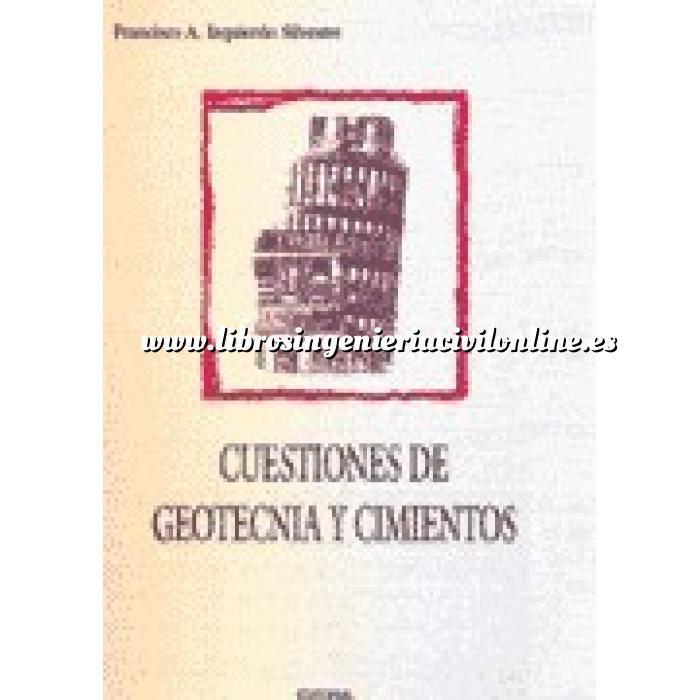 Imagen Geotecnia  Cuestiones de geotecnia y cimientos