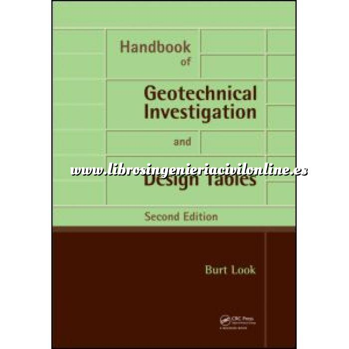 Imagen Geotecnia  Handbook of Geotechnical Investigation and Design Tables