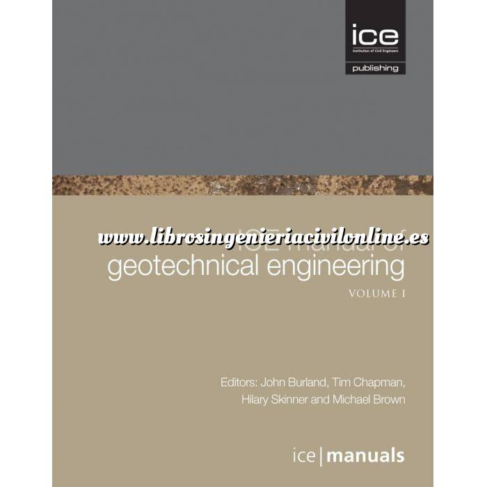 Imagen Geotecnia  ICE Manual of Geotechnical Engineering  2. VOL