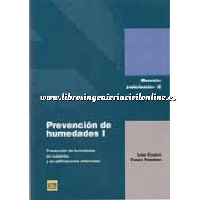 Imagen Humedades edificación Prevención de humedades I.Prevención de humedades en cubiertas y en edificaciones enterradas